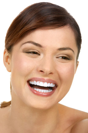 Photo of a young lady smiling from cosmetic bonding in Columbus Ohio